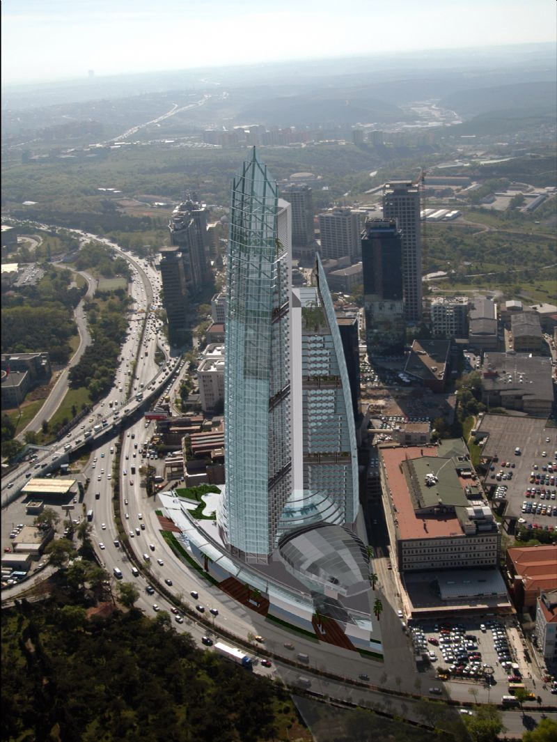 HIGH RISE STRUCTURES  DIAMOND OF ISTANBUL  180.000  m2